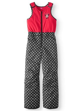 Product Image Polka Dot Snow Bib (Little Girls). Minnie Mouse 245393efc