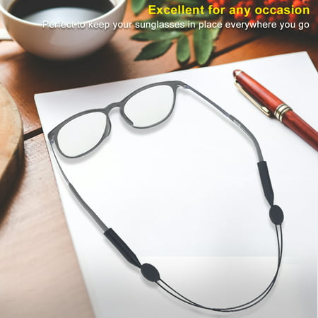Adjustable Anti-slip Sports Glasses Strap Cord Eyeglasses Band Rope String Holder , Glasses Sports Strap, Eyeglasses (Glasses Cords)