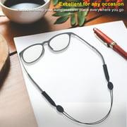 Adjustable Anti-slip Sports Glasses Strap Cord Eyeglasses Band Rope String Holder , Glasses Sports