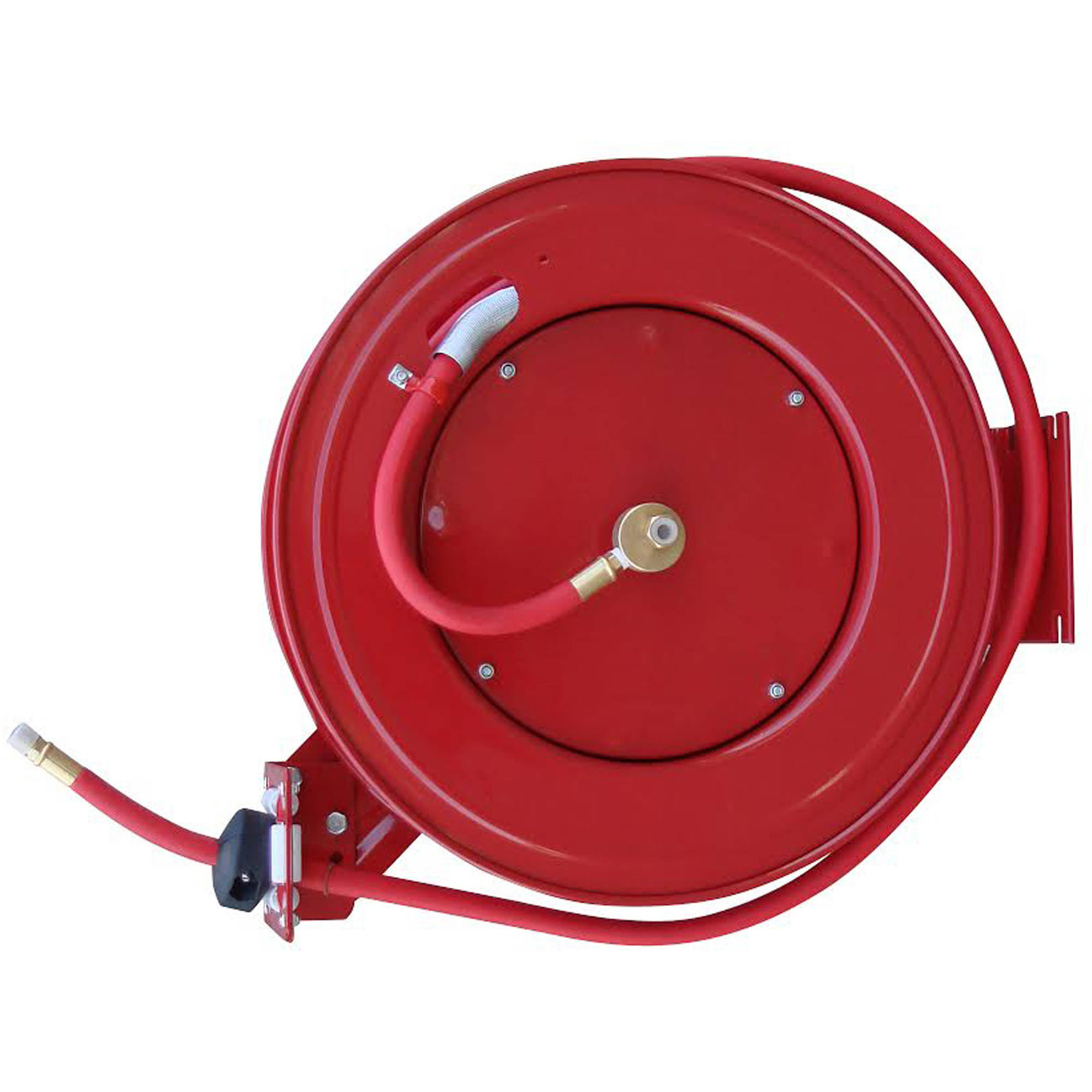 Black Bull 50' Retractable Air Hose Reel with Auto Rewind
