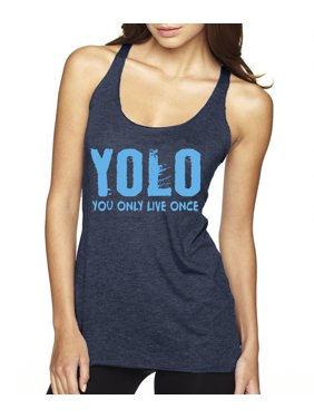 64d14ba9863 Product Image New Way 081 - Women s Tank-Top Yolo You Only Live Once