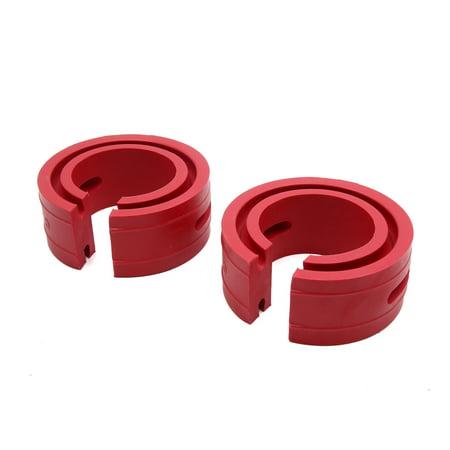 2pcs Type-C Choc Voiture Auto Protection Tampon Caoutchouc Coussin Alimentation - image 3 de 3
