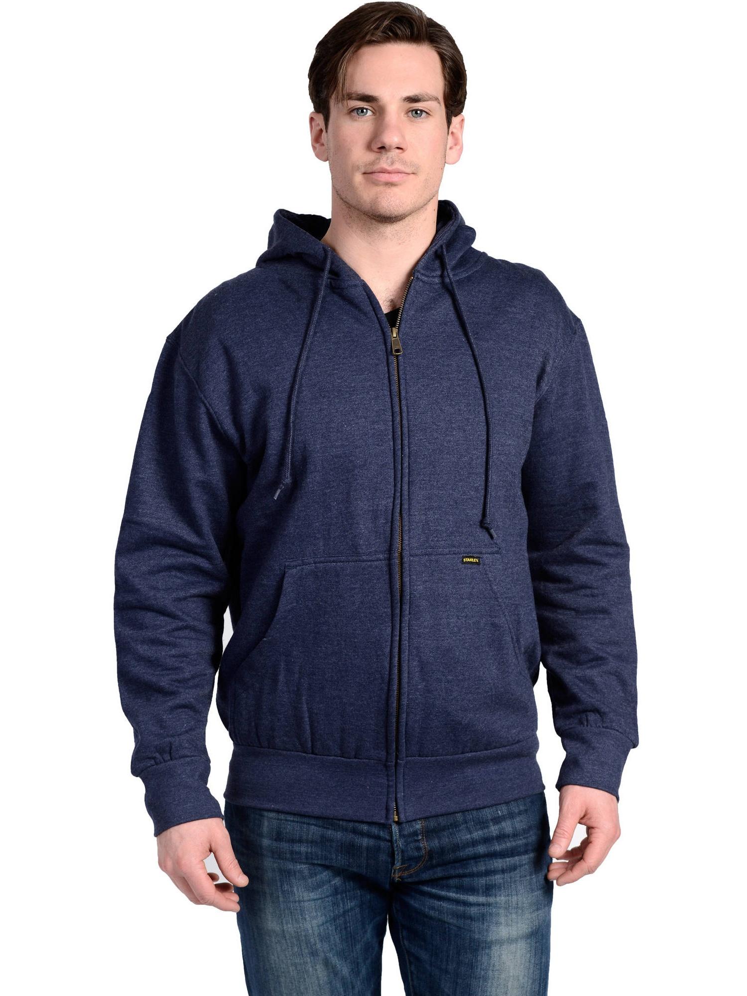 Big Men's Thermal Lined Fleece Hoodie