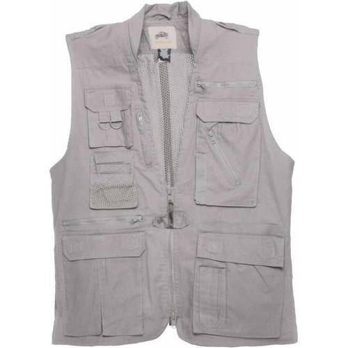 Safari Vest with 21 Pockets, , 100 Percent Cotton, Available in Multiple Colors and Sizes