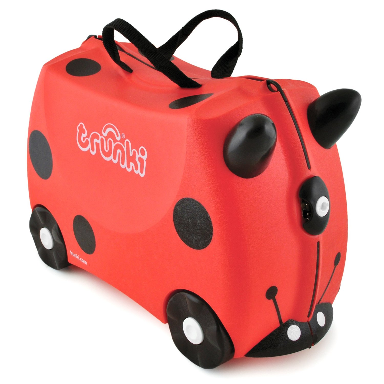 Trunki, Luggage For Little People: Harley, Ladybug by Trunki