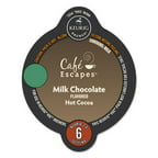 Caf��� Escapes Milk Chocolate Hot Cocoa Vue Pack, 16/Box -GMT9321