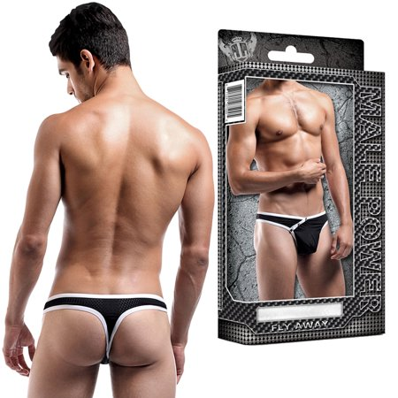 Male Power Mens Fly Away Snap Thong
