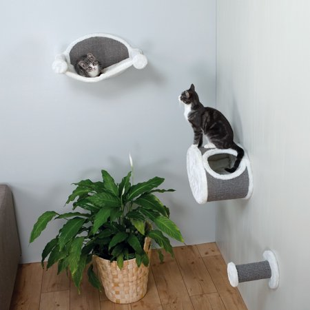 Trixie Pet Wall Mounted Cat Lounging Set