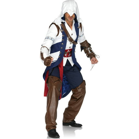 Leg Avenue Assassin's Creed Connor Adult Halloween Costume (Assassini Halloween)