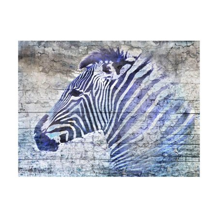 Purple Zebra Print Wall Art By Surma & - Purple Zebra Print