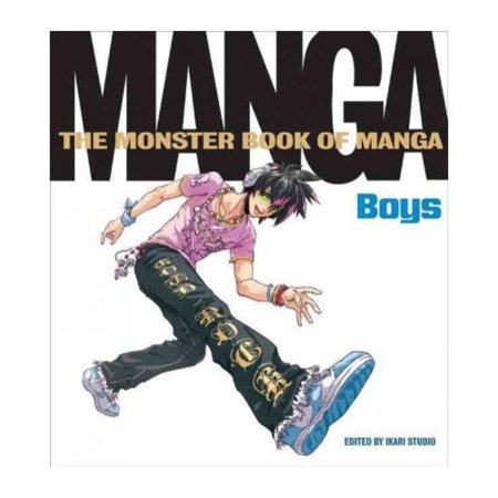 The Monster Book of Manga: Boys