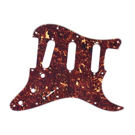 Tortoise Red Guitar Pick Guard Back Plate with 20pcs Screws for Stratocaster Strat Style Electric Guitar - image 7 of 7