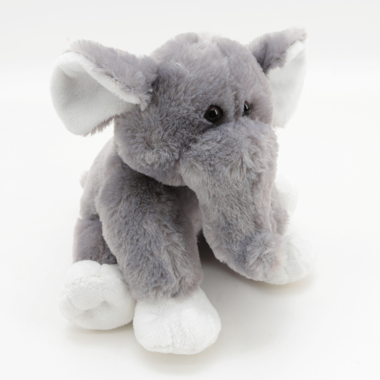 10 Inch Zoo Animal Plush Stuffed Toy Elephant Walmart Com