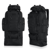 100L Large Capacity Military Tactical Backpack Waterproof Hiking Backpack Camping Trekking Outdoor Sport Rucksack Mountaineering Shoulder Army Bag for Travel Great Gift