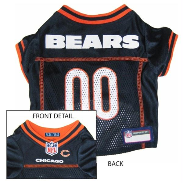 Chicago Bears Dog Jersey - X-Small