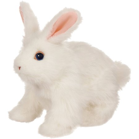 FurReal Friends Hop 'n Cuddle Bunnies, White