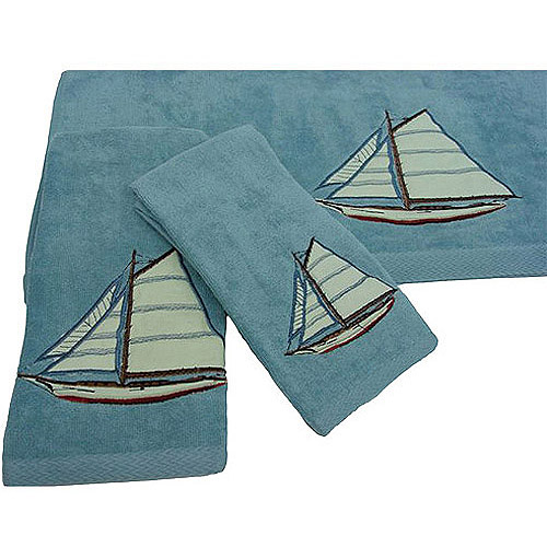Easy Living Fair Harbor 3-Piece Decorative Towel Set
