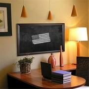 Rayne Mirrors B301818 American Made American Walnut Blackboard & Chalkboard, 22 x 22 in.