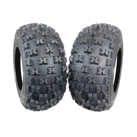 MASSFX EOS20109 ATV Tires 2 Set Durable 6 ply Dual Compound 20X10-9