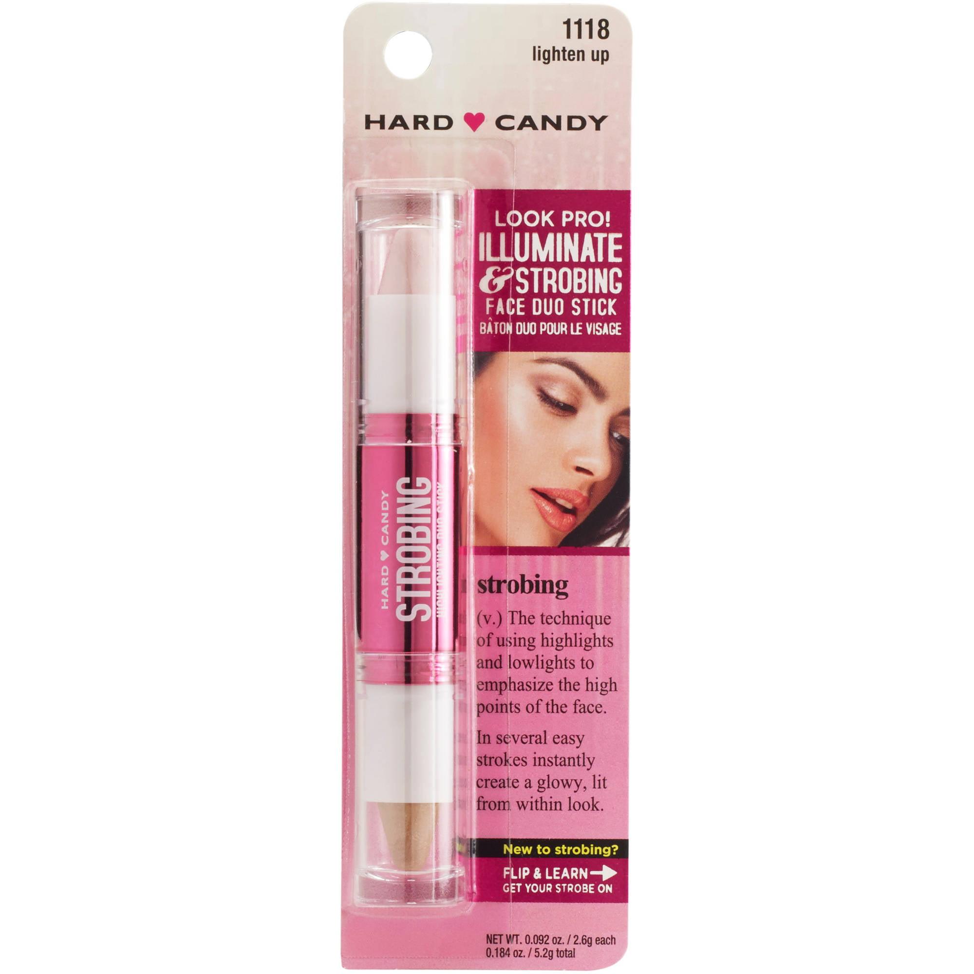 Hard Candy Look Pro! Illuminate & Strobing Face Duo Stick, 1118 Lighten Up, 0.092 oz