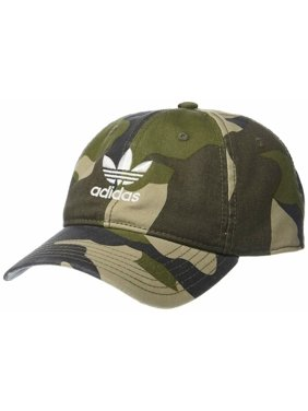 67991aa973b5b4 Product Image adidas Men's Originals Relaxed Strap Back Cap Hat Camo AOP  White Trefoil Logo