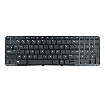 highfine laptop replacement keyboard with frame for hp pn...