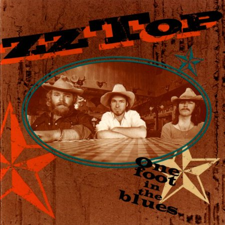 zz top one foot in the blues cd. Black Bedroom Furniture Sets. Home Design Ideas