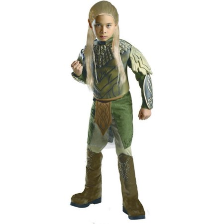Child Male Deluxe Legolas Greenleaf Hobbit 2 Decolation Of Smaug Costume by Rubies 884746 - Hobbit Costumes For Kids