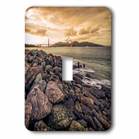 3dRose San Francisco Sunset, 2 Plug Outlet (Outlet Store In San Francisco)