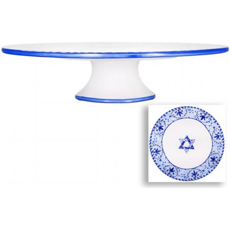 Home Essentials & Beyond 90123 12 in. Mosaic With Star Cake Stand - image 1 of 1