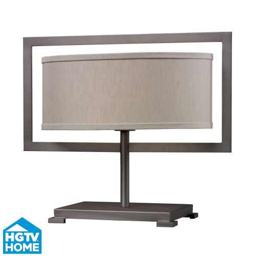 "Dimond Lighting HGTV156 1 Light 15"" Height Table Lamp from the HGTV Hot Collection"
