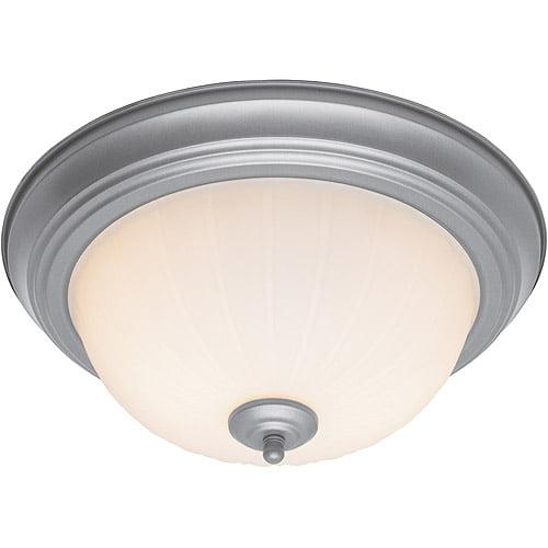 hampton amelia flush mount ceiling light - walmart