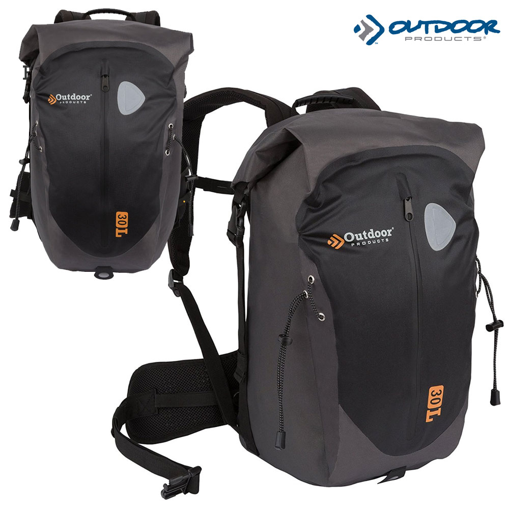 Outdoor Products Shasta Weather Defense Backpack- Black