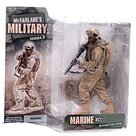McFarlane Military Series 3 Marine RCT Action Figure [Random Ethnicity]](Military Action Figures)