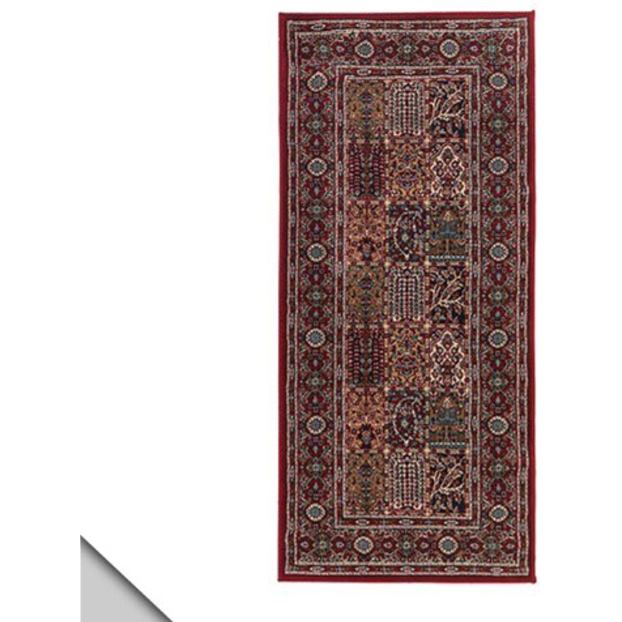 Ikea Valby Ruta Rug Low Pile Runner Multicolor Traditional