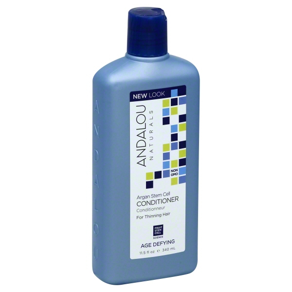 Andalou Naturals Age Defying Treatment Conditioner Thinning Hair Treatment with Argan Stem Cells, 11.5 Ounce []