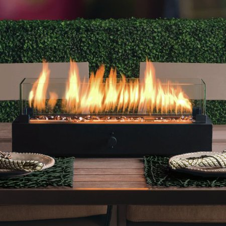 Propane Gas Fireplace (Bond Manufacturing Lara Steel Propane Tabletop Fireplace )