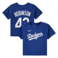 Jackie Robinson Los Angeles Dodgers Nike Infant Player Name & Number T-Shirt - Royal