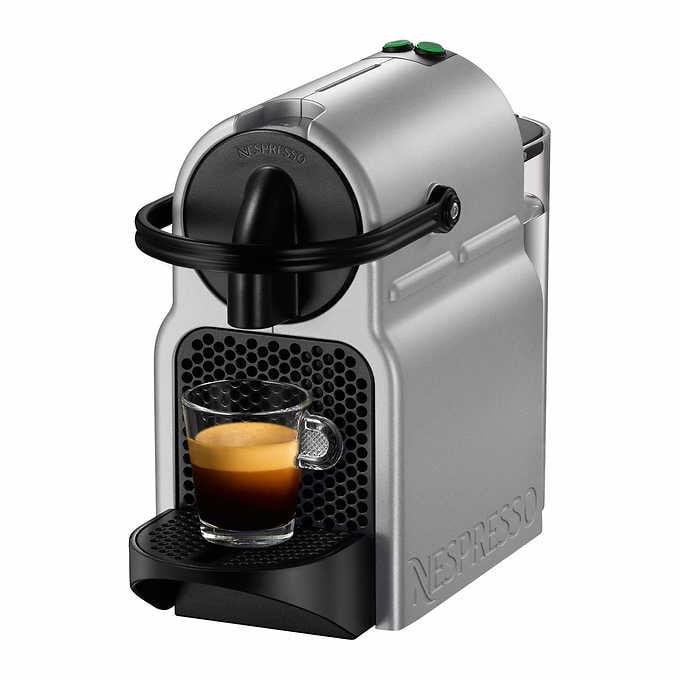 Nespresso Inissia Coffee Machine by De'Longhi, Silver ...