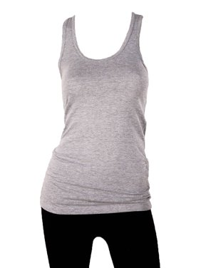 3038248fc09e7 Product Image Sofra Women s 100% Cotton Racerback Tank Top