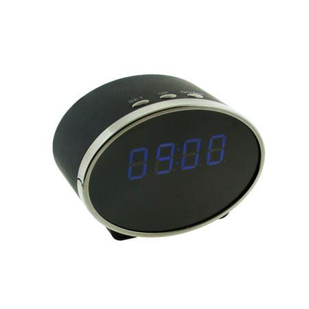 Brickhouse Security Ovi Hd 1080P Wifi Clock Hidden Camera Oval Shape