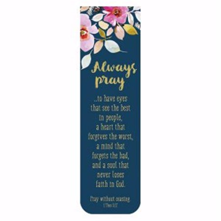 CB Gift 143064 Magnetic Always Pray Bookmark