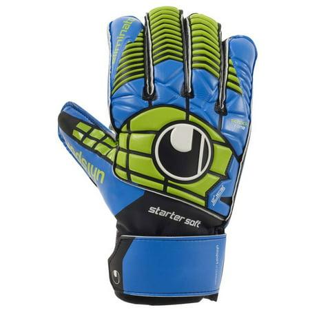 Uhlsport Eliminator Starter Soft Soccer Goalie Gloves Indoor Soccer Goalie