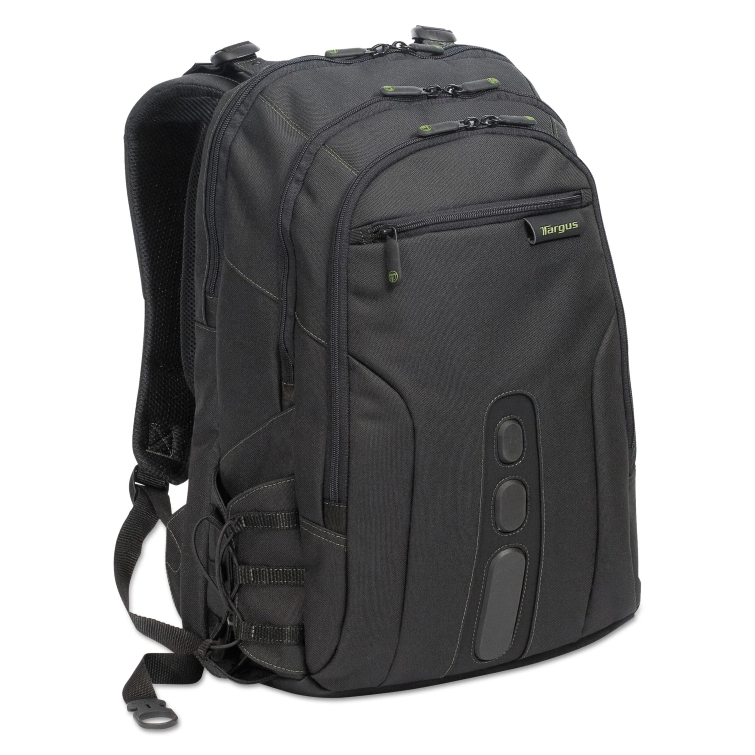 "Targus Spruce Ecosmart Backpack 17"" Laptop, 19 1/2 x 13 x 6 3/4, Black"