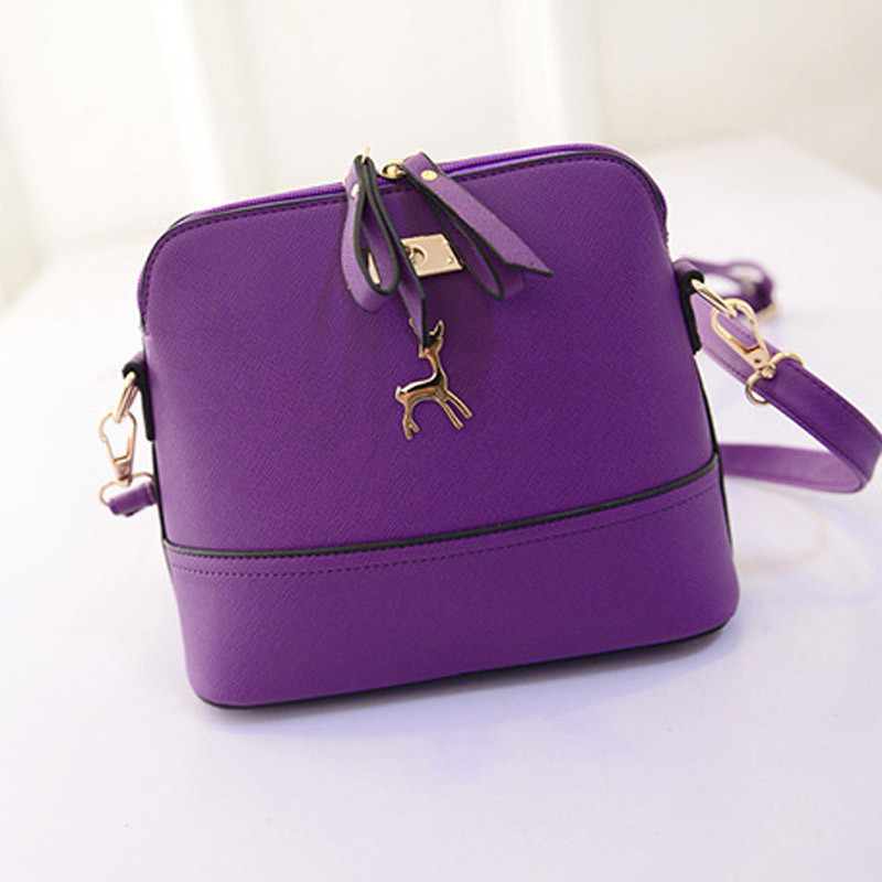 597f401539 Outtop New Women Messenger Bags Vintage Small Shell Leather Handbag Casual  Bag - Walmart.com
