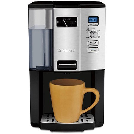 Cuisinart Coffee On Demand 12 Cup Programmable Coffeemaker  Black Chrome Dcc 3000
