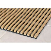 Mats Inc. Barepath Anti-Slip Wet Area Mat, Buff, 2' x 10'