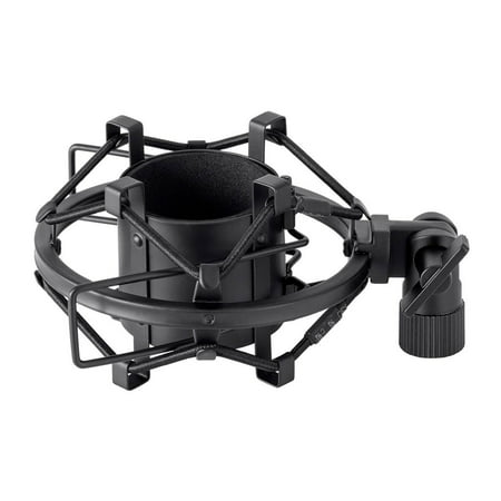 Monoprice Universal Shock Mount, For Large Diaphram Condenser Microphones, Isolate Mics From Bumps And Scuffles - Stage Right Series Stage Universal Microphone Holder