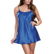 Julymona Womens Sexy V-Neck Pajamas Nightdress Sleepwear Lingerie Valentine's Day Gift