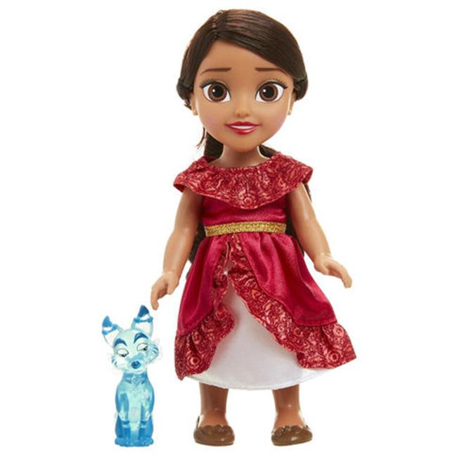 Hasbro HSBE0108 Disney Princess Elena of Avalor Fashion Doll with Zuzo Toys - 4 Count